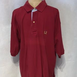 Tommy Hilfiger red long sleeved shirt size xl